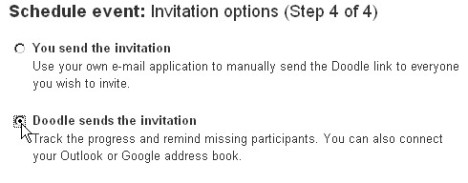 invitation choices