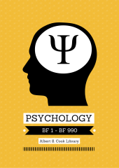 Psychology poster created in Canva